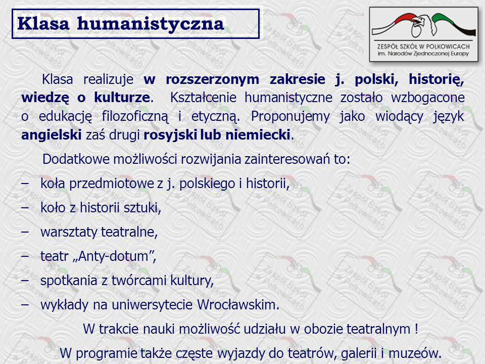 Klasa humanistyczna