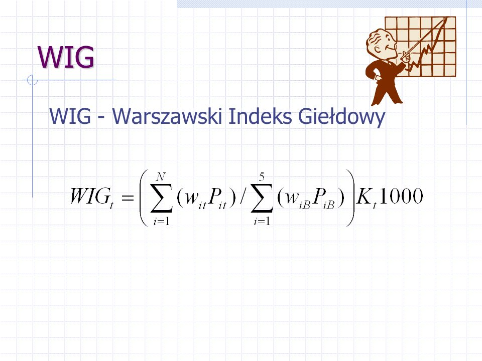 WIG WIG - Warszawski Indeks Giełdowy