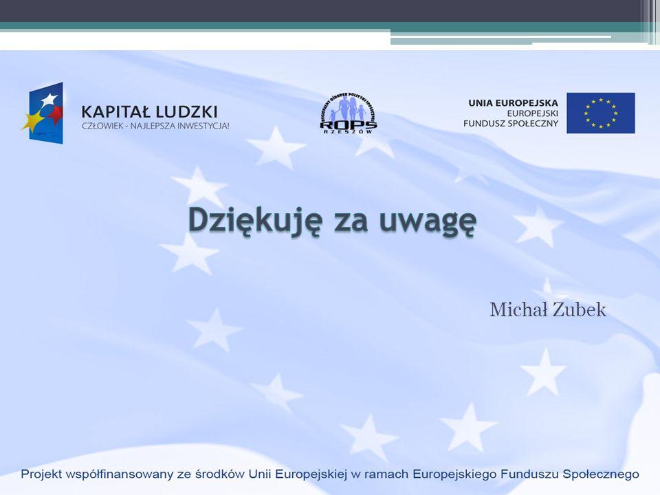 Dziękuję za uwagę Michał Zubek