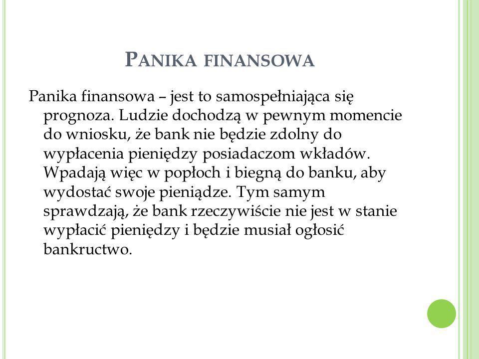 Panika finansowa