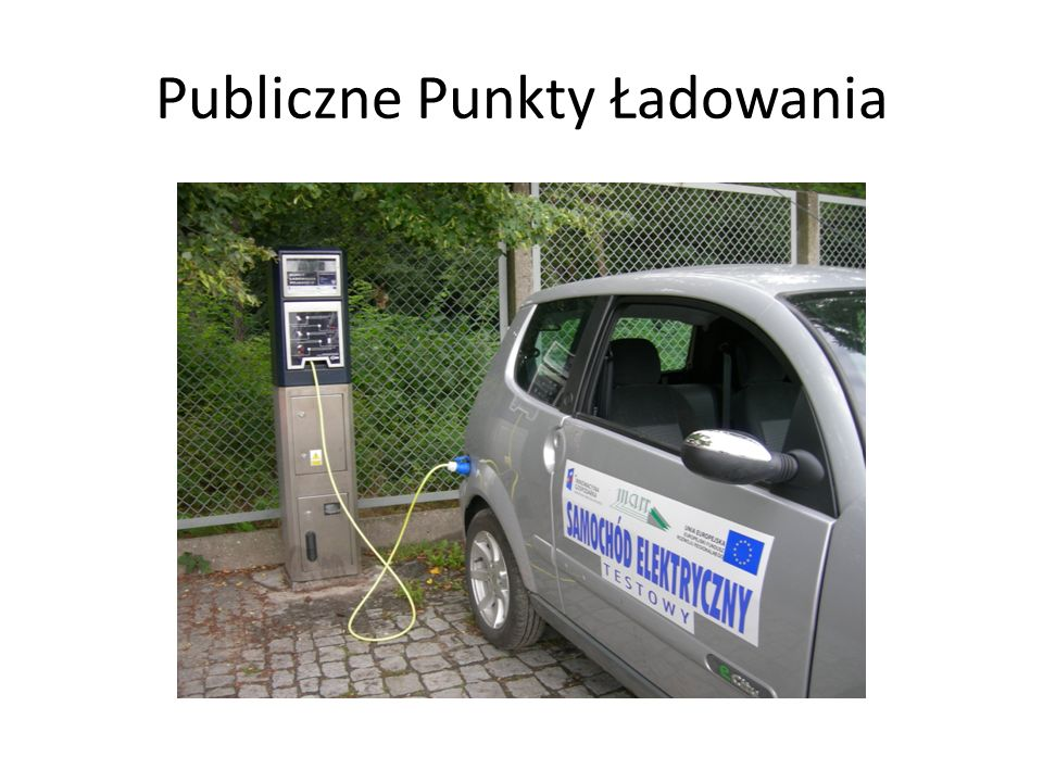 Publiczne Punkty Ładowania