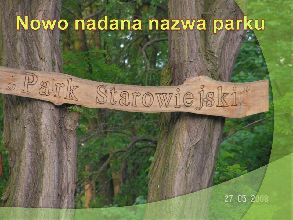 Nowo nadana nazwa parku