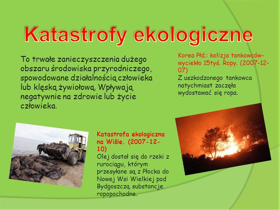 Katastrofy ekologiczne