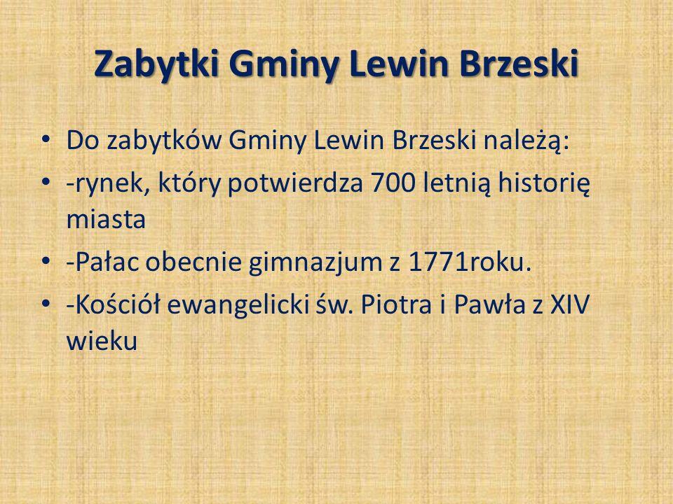 Zabytki Gminy Lewin Brzeski