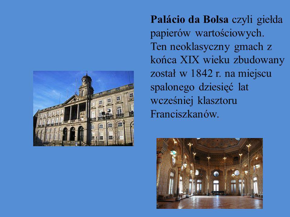 Palácio da Bolsa czyli giełda papierów wartościowych