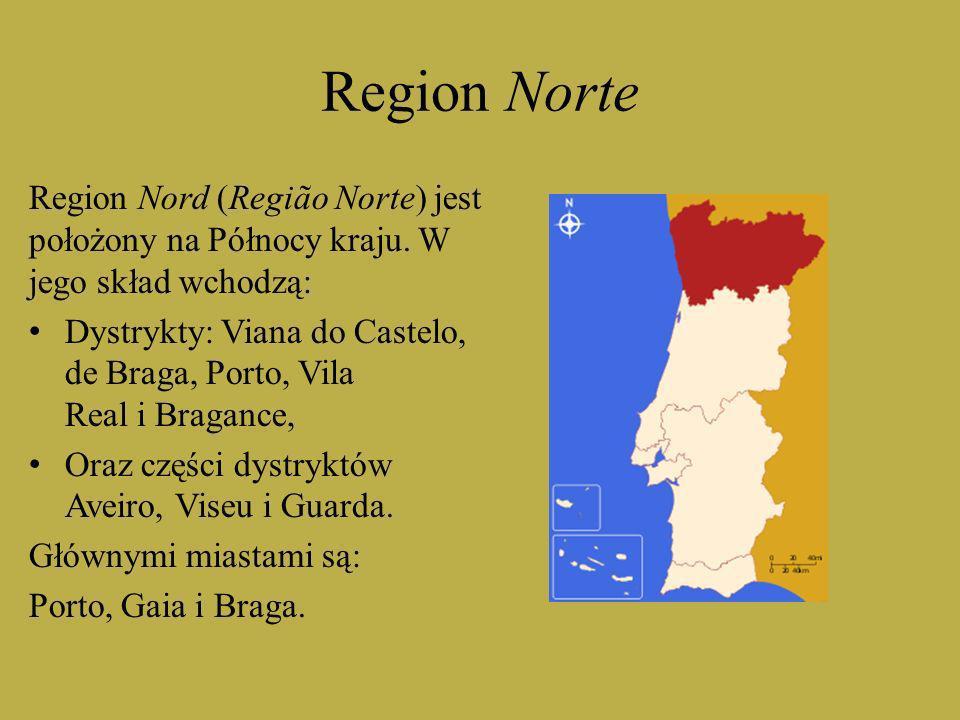 Region Norte Region Nord (Região Norte) jest położony na Północy kraju. W jego skład wchodzą: