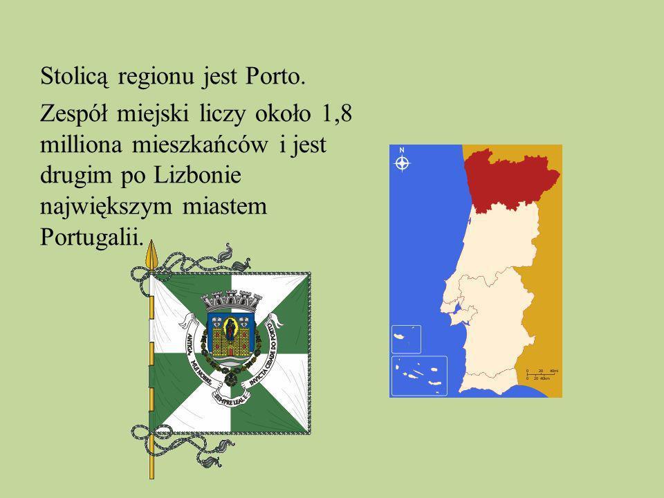 Stolicą regionu jest Porto