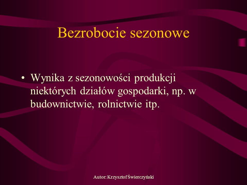 Autor: Krzysztof Świerczyński