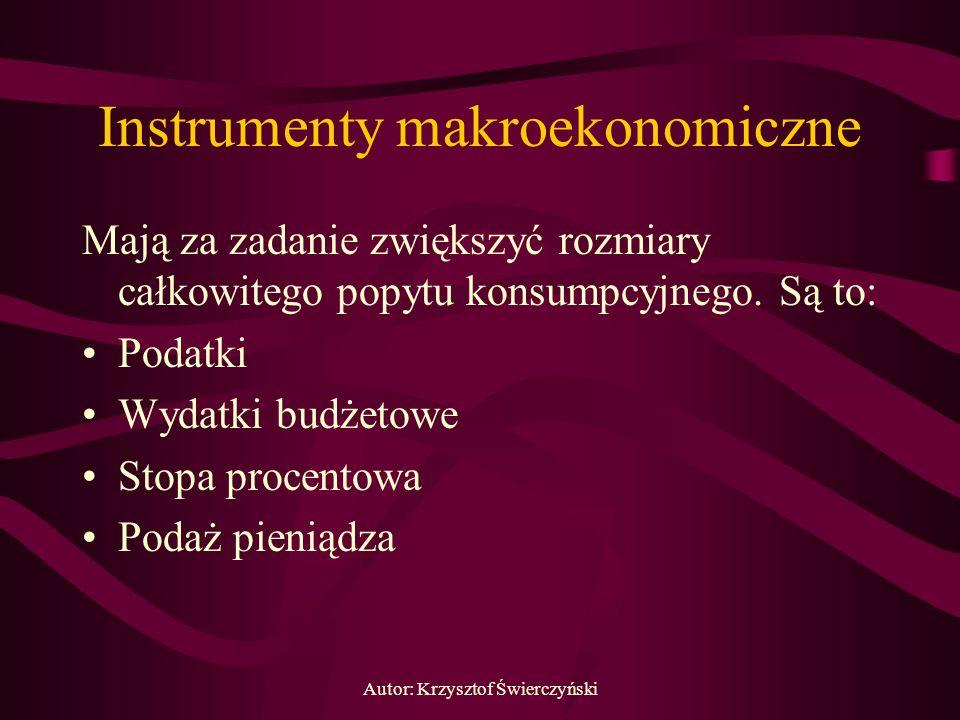 Instrumenty makroekonomiczne