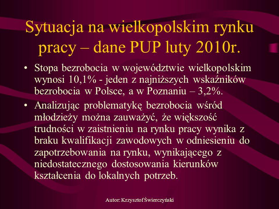 Sytuacja na wielkopolskim rynku pracy – dane PUP luty 2010r.