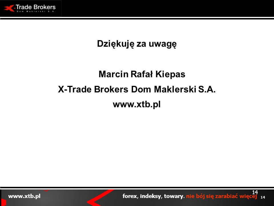 X-Trade Brokers Dom Maklerski S.A.