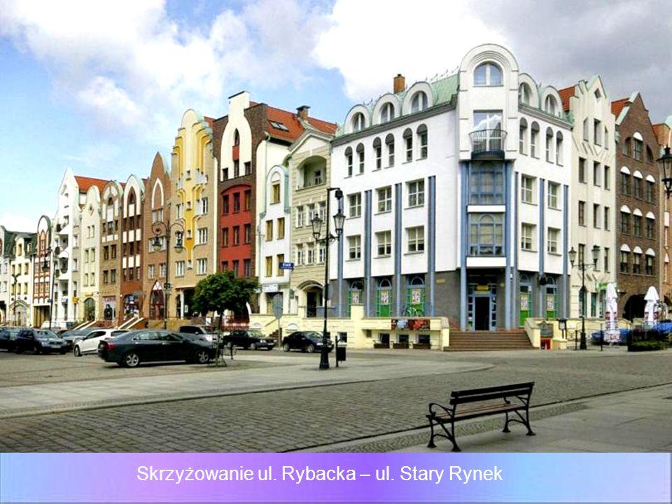 Skrzyżowanie ul. Rybacka – ul. Stary Rynek