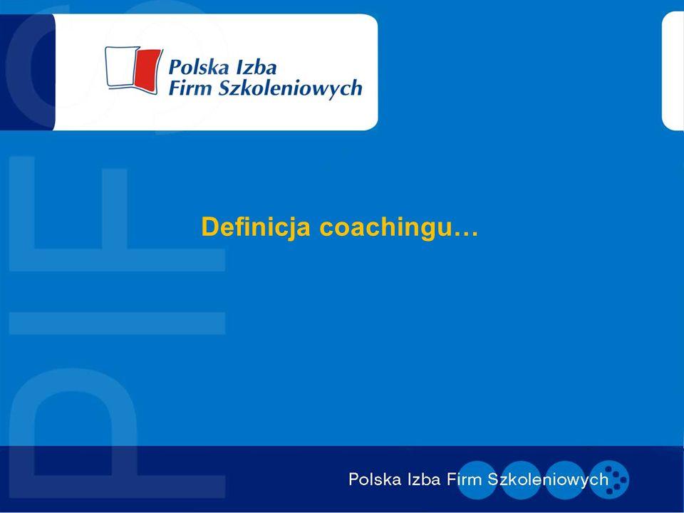 Definicja coachingu…