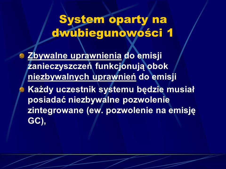System oparty na dwubiegunowości 1