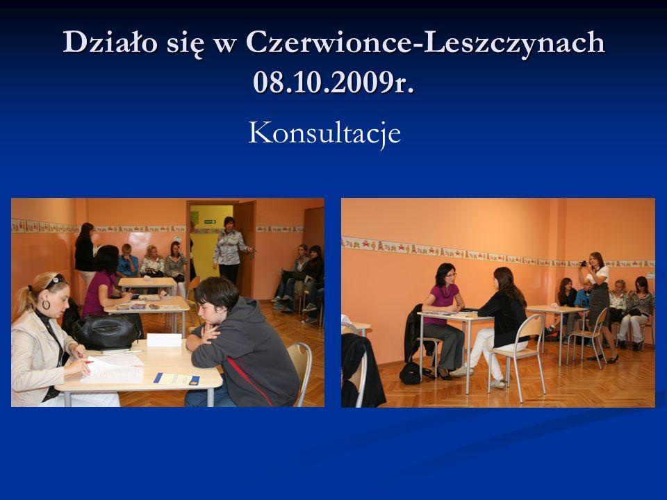 Działo się w Czerwionce-Leszczynach 08.10.2009r.
