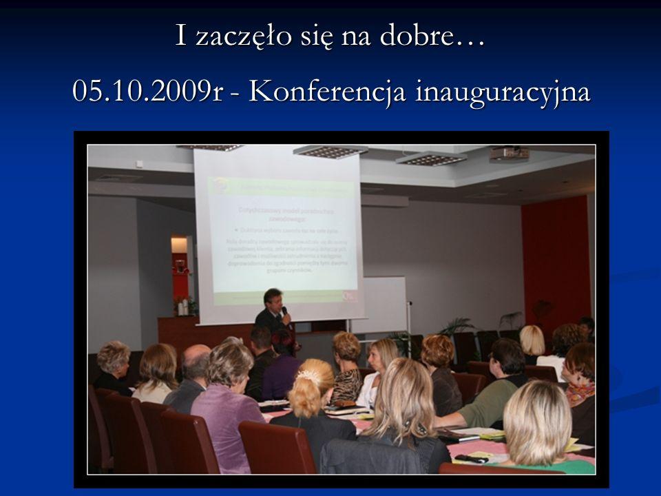 05.10.2009r - Konferencja inauguracyjna