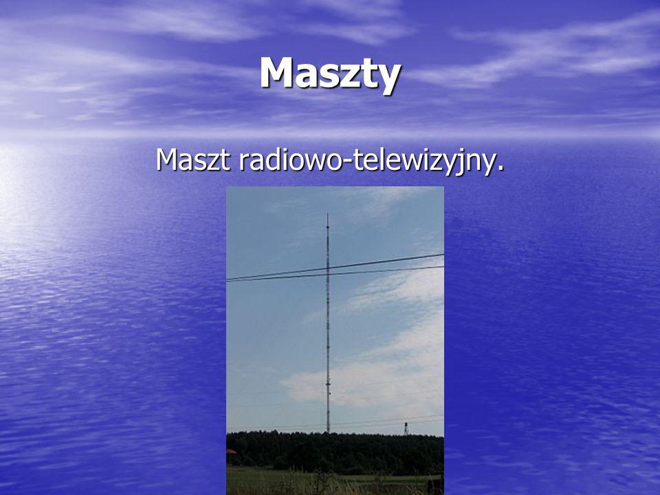 Maszt radiowo-telewizyjny.