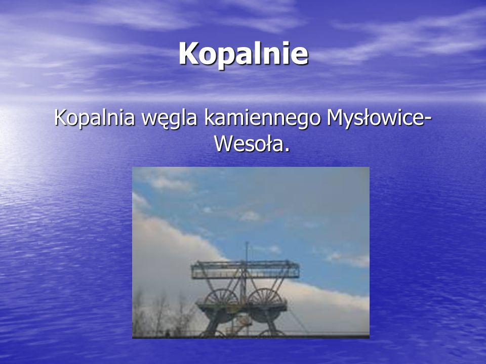Kopalnia węgla kamiennego Mysłowice-Wesoła.