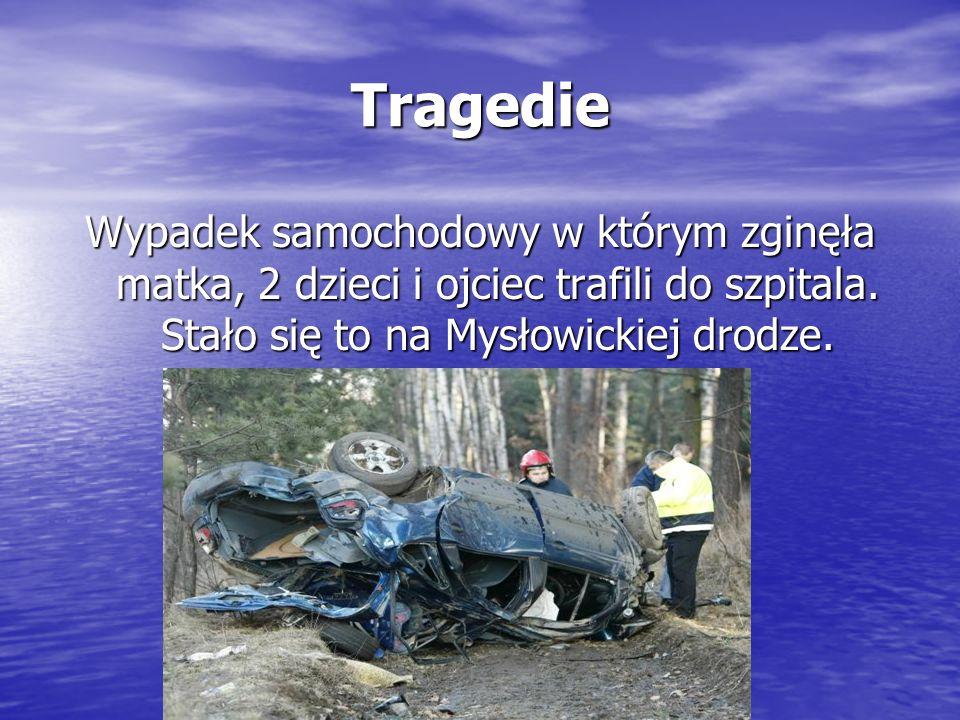 Tragedie Wypadek samochodowy w którym zginęła matka, 2 dzieci i ojciec trafili do szpitala.
