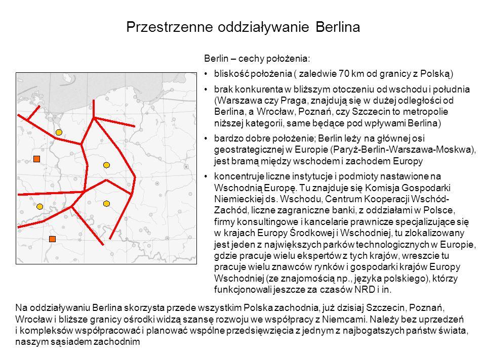 Przestrzenne oddziaływanie Berlina