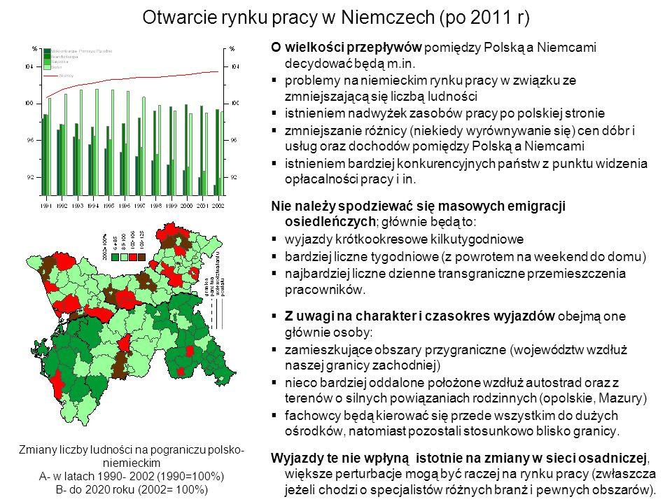 Otwarcie rynku pracy w Niemczech (po 2011 r)