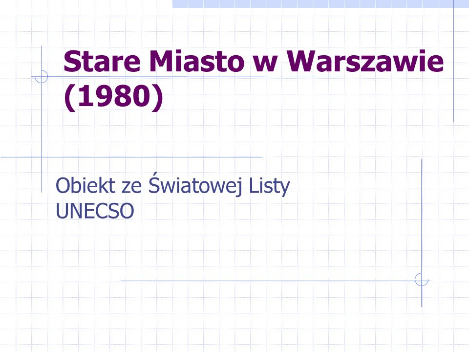 Stare Miasto w Warszawie (1980)