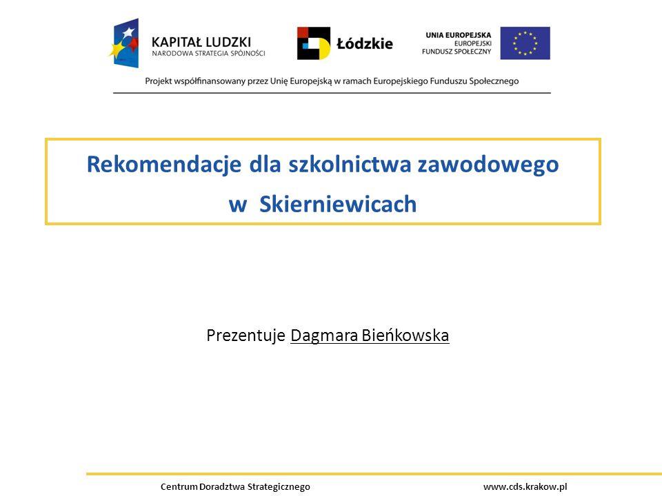 Rekomendacje dla szkolnictwa zawodowego w Skierniewicach