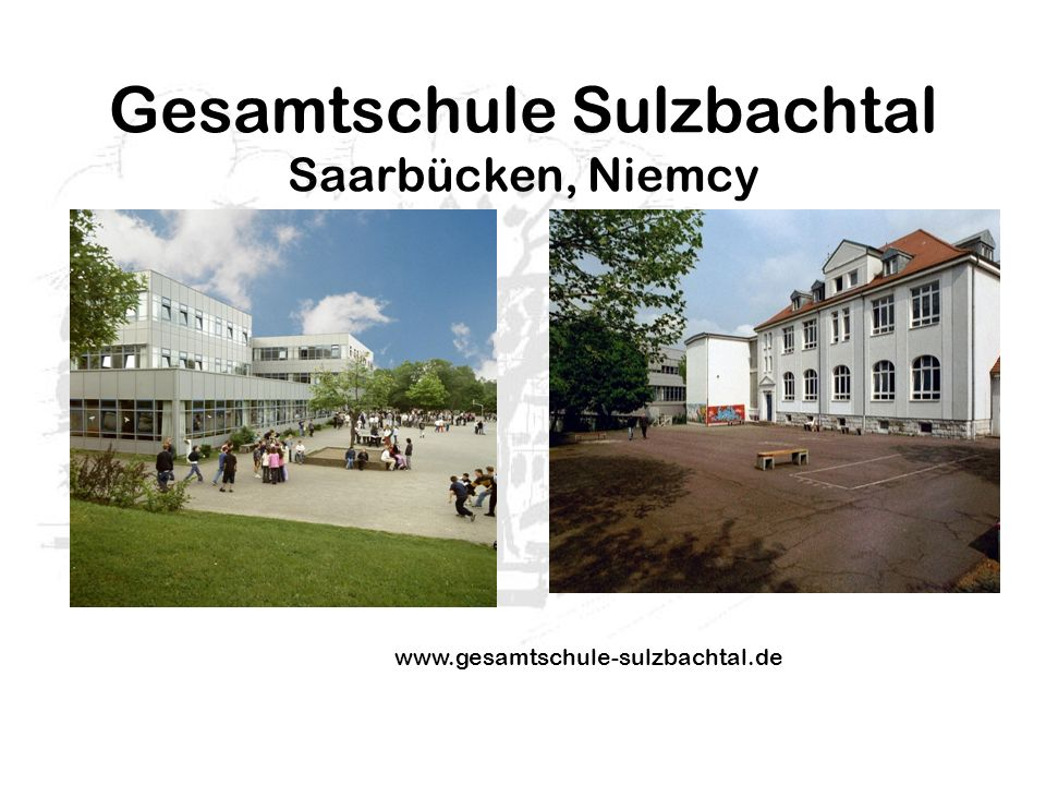 Gesamtschule Sulzbachtal Saarbücken, Niemcy