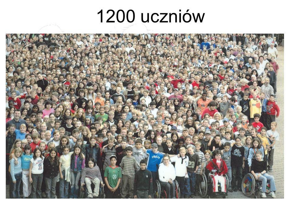 1200 uczniów