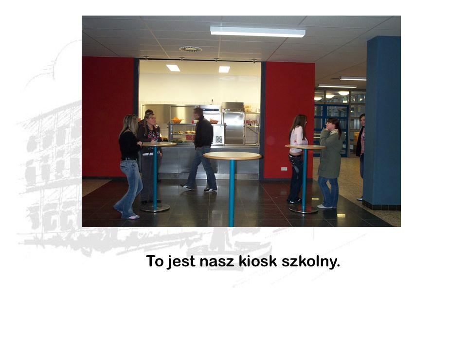 To jest nasz kiosk szkolny.