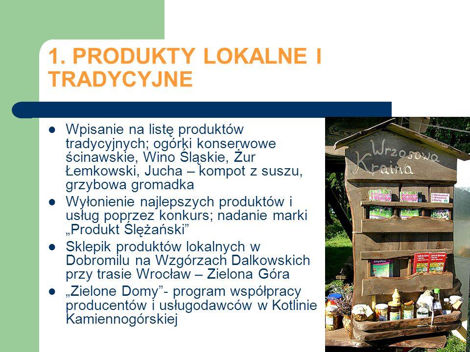 1. PRODUKTY LOKALNE I TRADYCYJNE