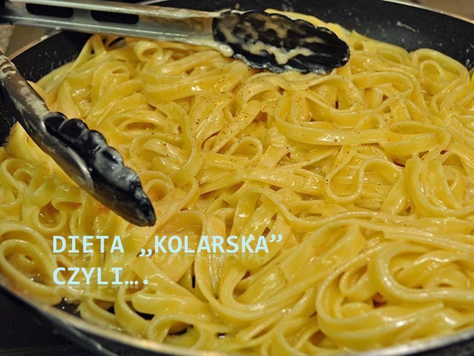 "Dieta ""kolarska czyli…."