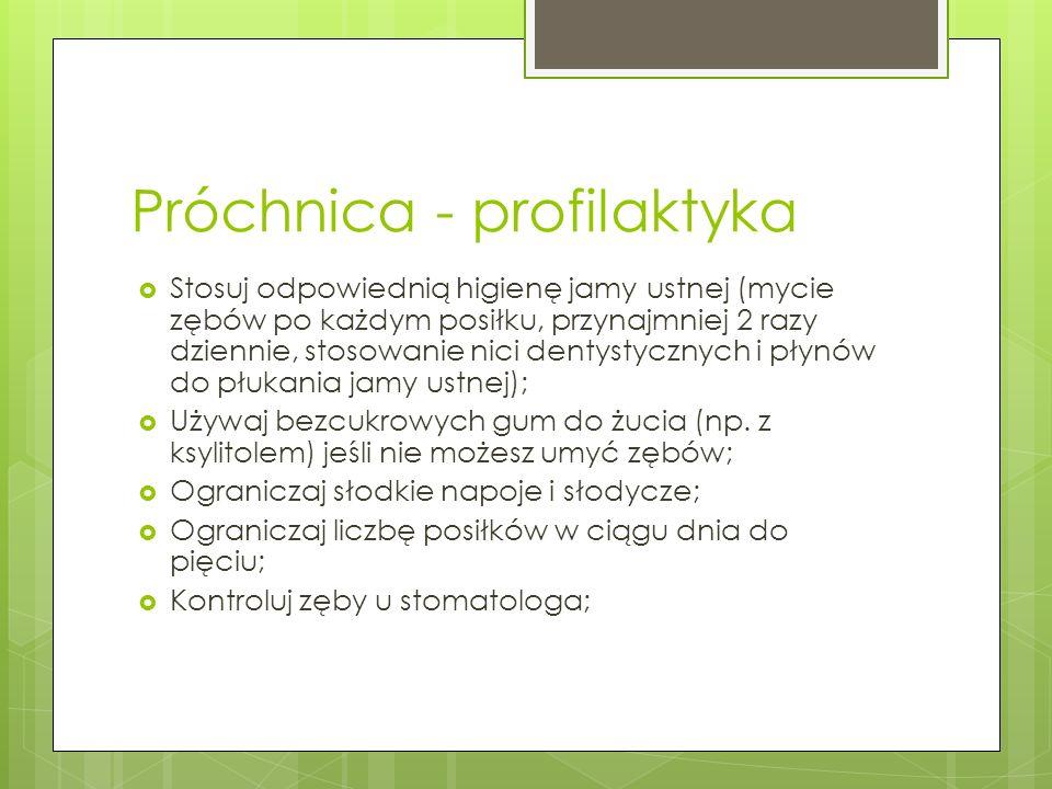 Próchnica - profilaktyka