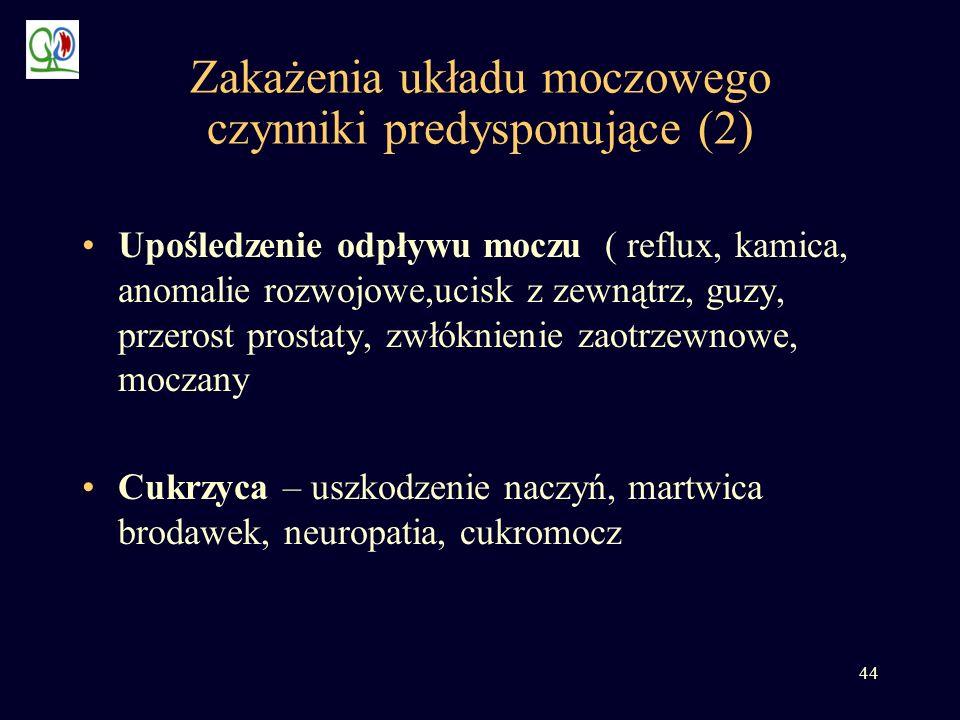 Zakażenia układu moczowego czynniki predysponujące (2)