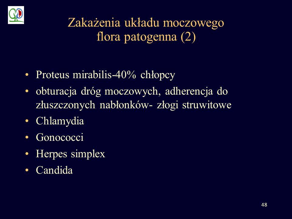 Zakażenia układu moczowego flora patogenna (2)