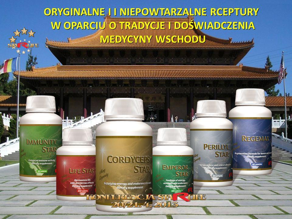 ORYGINALNE I I NIEPOWTARZALNE RCEPTURY