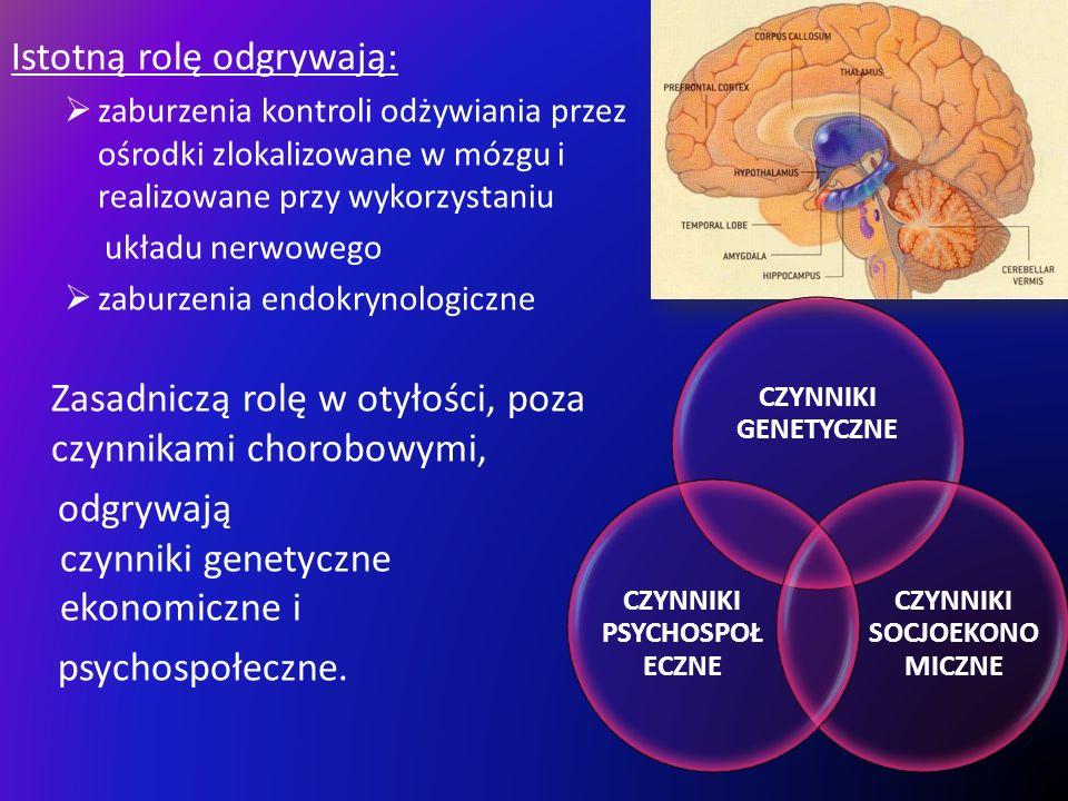 CZYNNIKI SOCJOEKONOMICZNE CZYNNIKI PSYCHOSPOŁECZNE