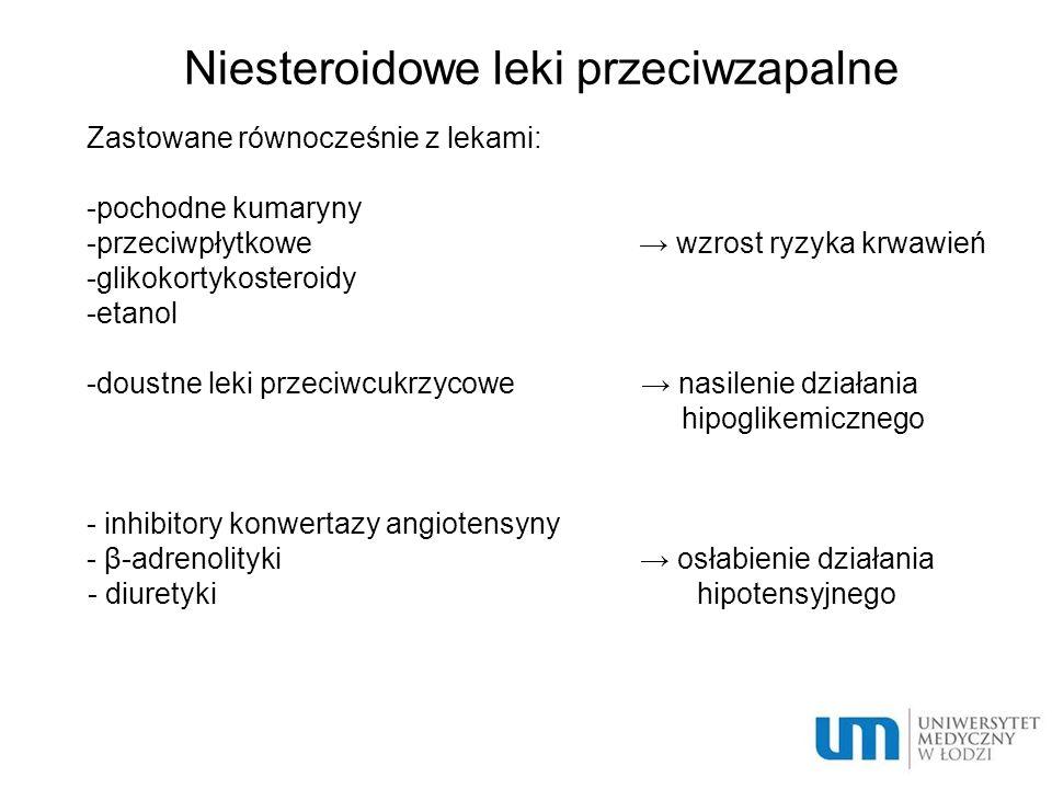 Niesteroidowe leki przeciwzapalne