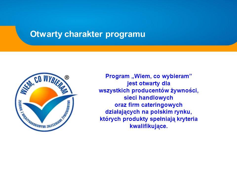 Otwarty charakter programu