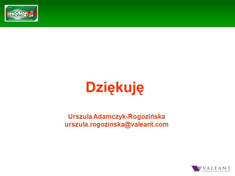 Urszula Adamczyk-Rogozińska