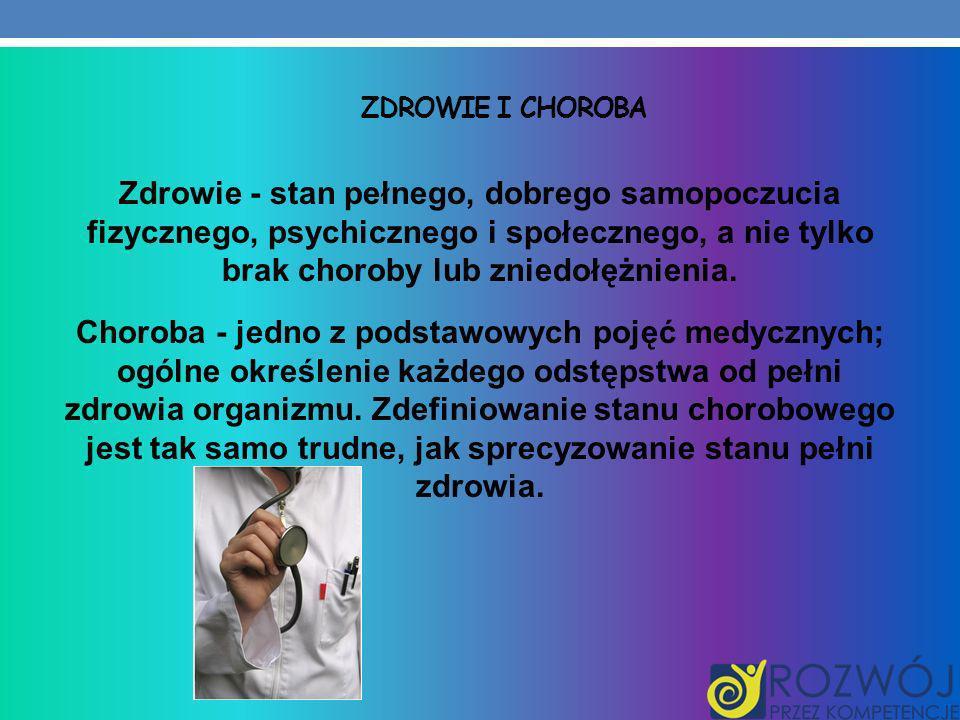 Zdrowie i choroba