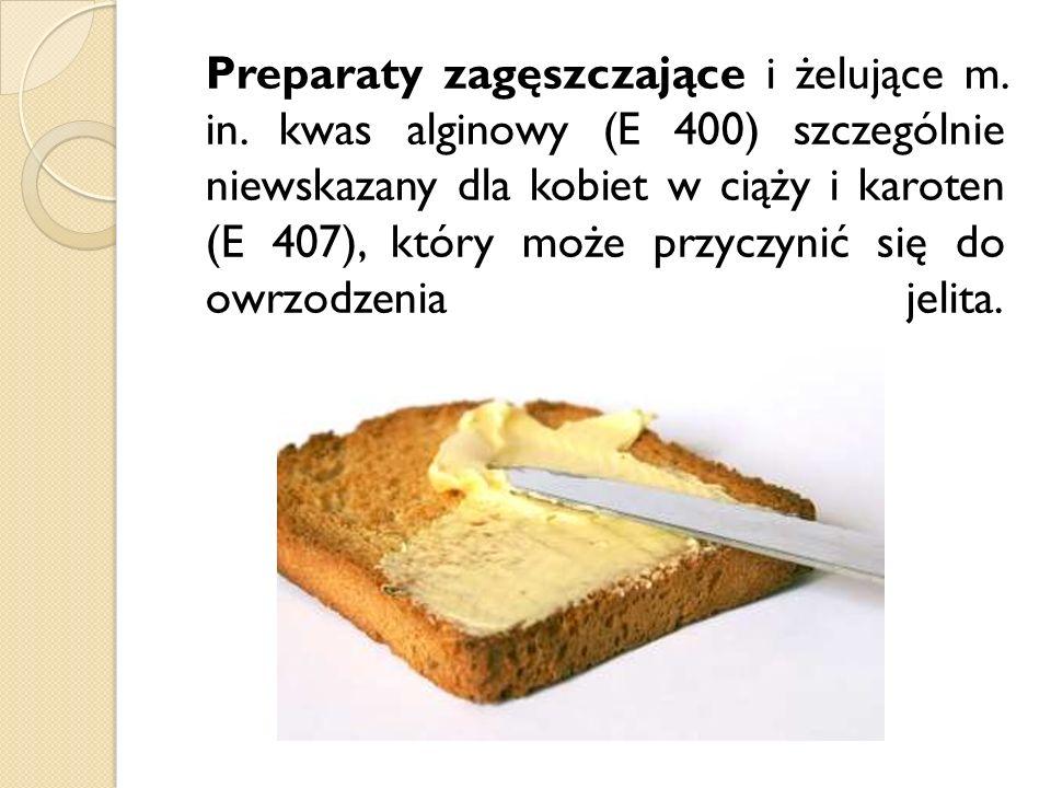 Preparaty zagęszczające i żelujące m. in