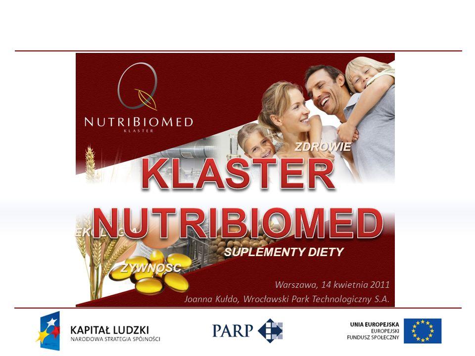 KLASTER NUTRIBIOMED ZDROWIE EKOLOGIA SUPLEMENTY DIETY ZYWNOSC