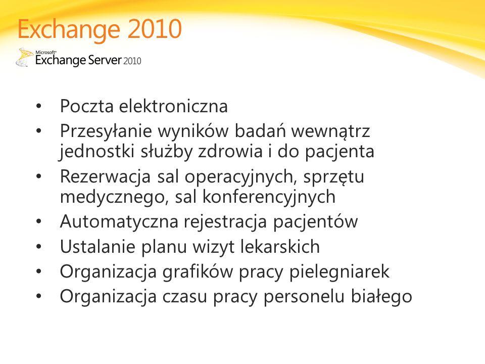 Exchange 2010 Poczta elektroniczna