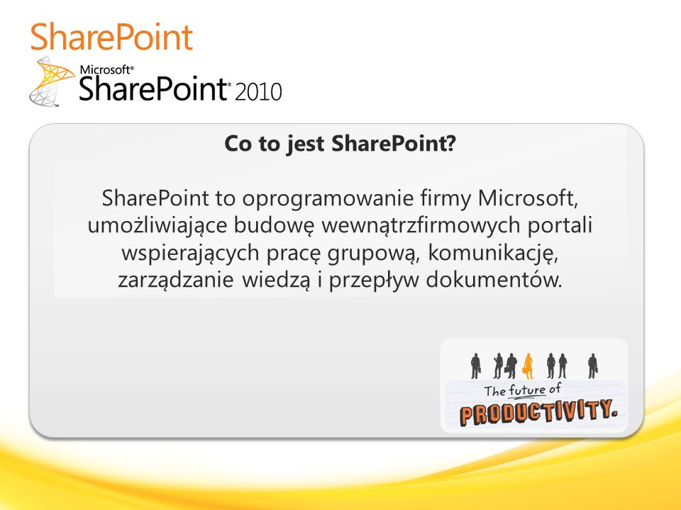 SharePoint Co to jest SharePoint