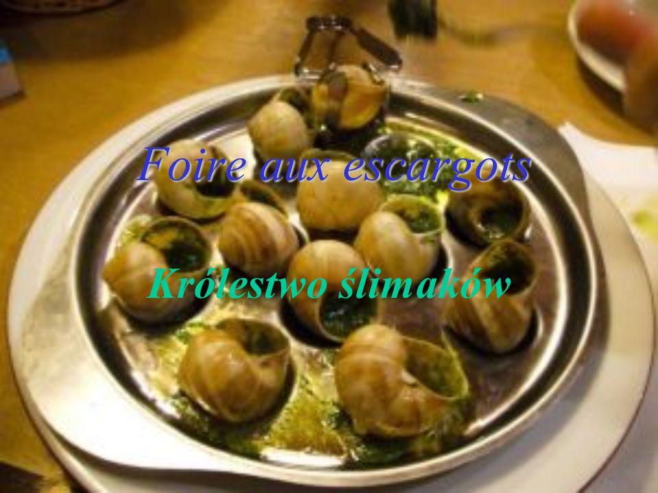 Foire aux escargots Królestwo ślimaków