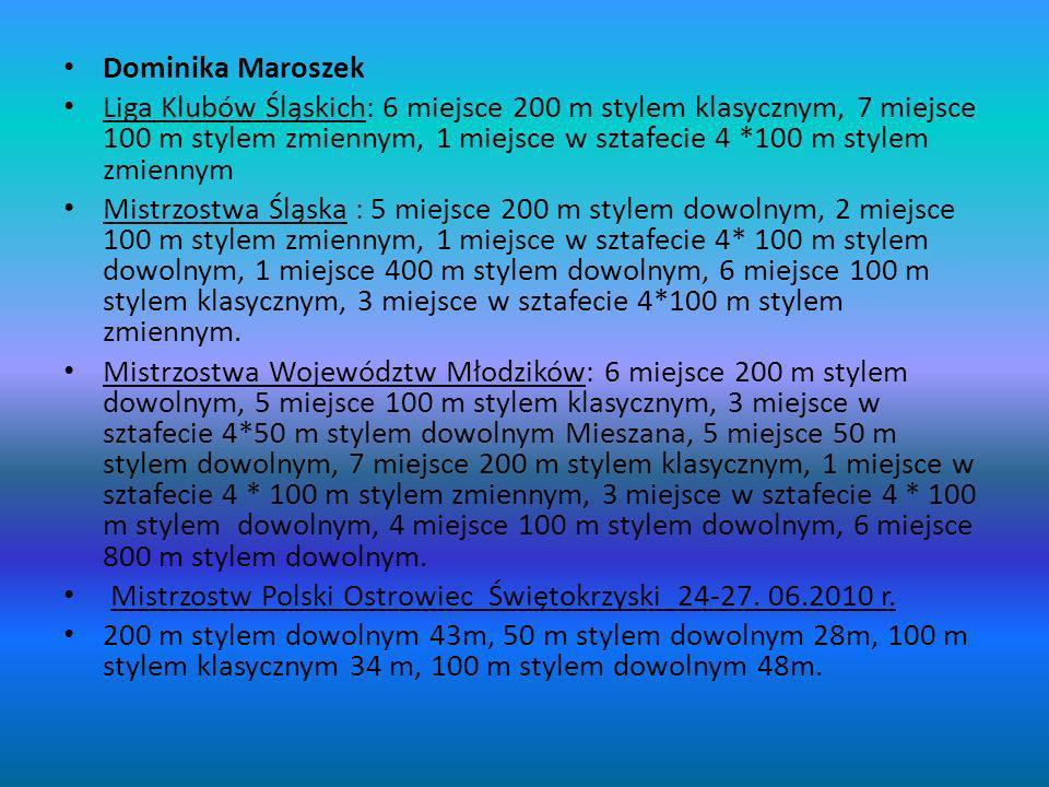 Dominika Maroszek