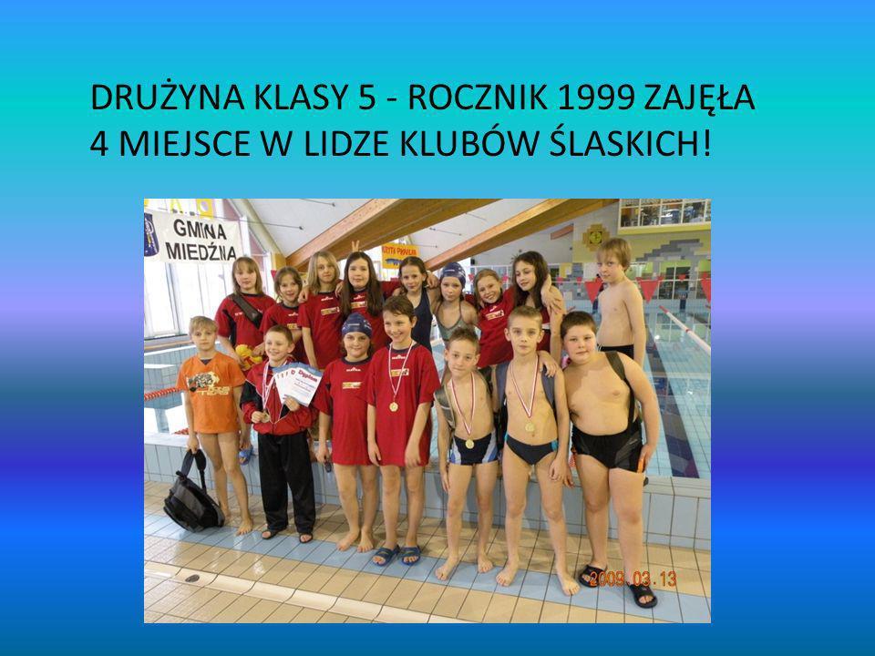 DRUŻYNA KLASY 5 - ROCZNIK 1999 ZAJĘŁA 4 MIEJSCE W LIDZE KLUBÓW ŚLASKICH!