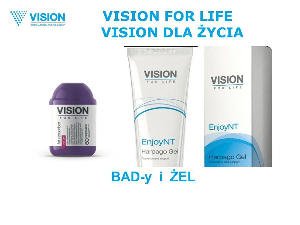 VISION FOR LIFE VISION DLA ŻYCIA BAD-y i ŻEL