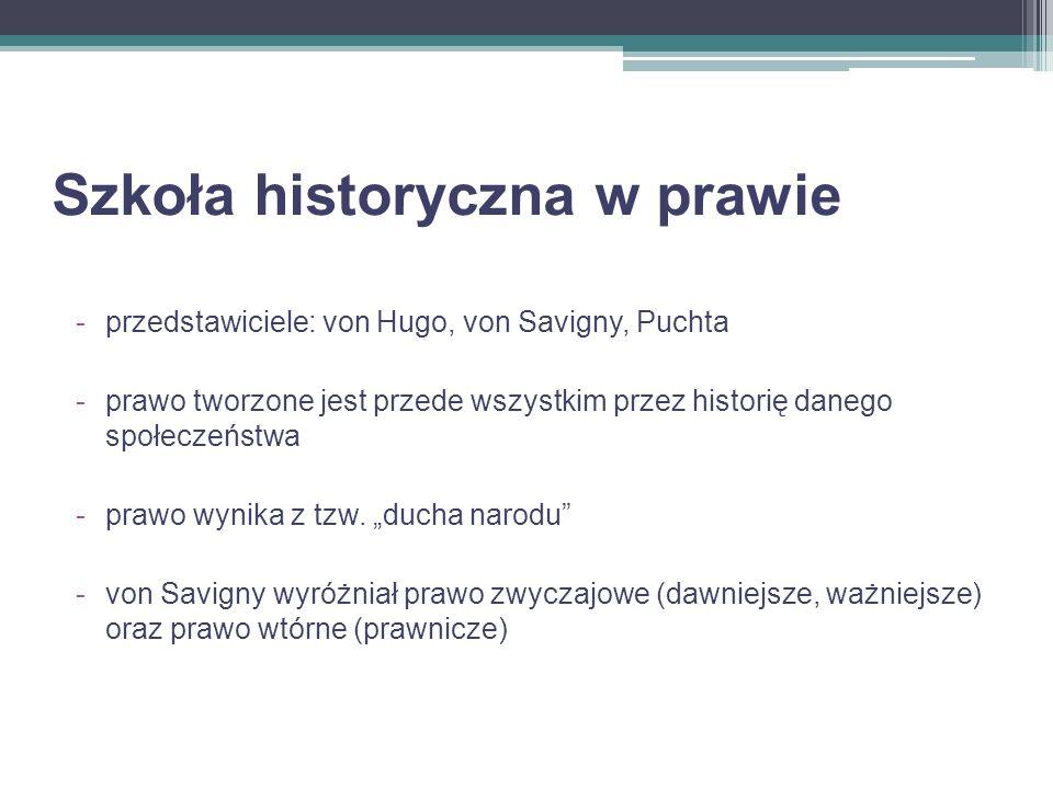 Szkoła historyczna w prawie